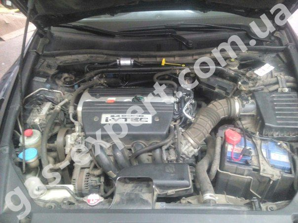 Газ на авто Honda Accord 2.4 2008