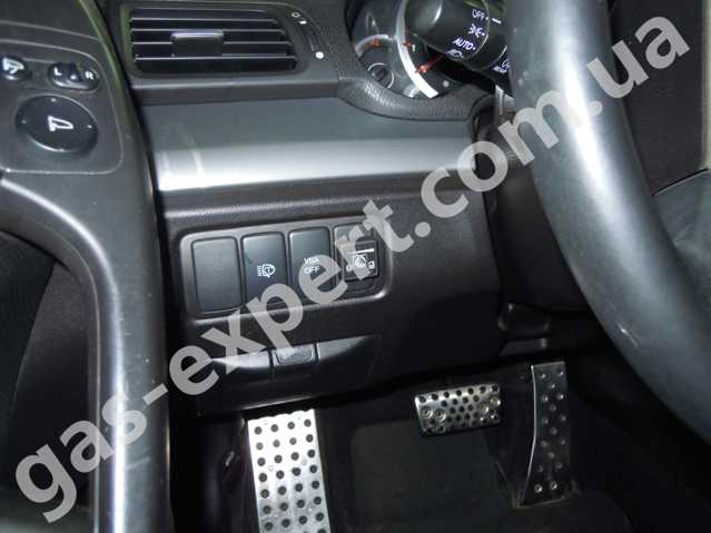 Газ на авто Honda Accord 2008 2.4л
