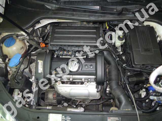 ГБО на Volkswagen Golf 1.4 2007